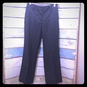 Ann Taylor Petite Curvy Trouser Dark Grey